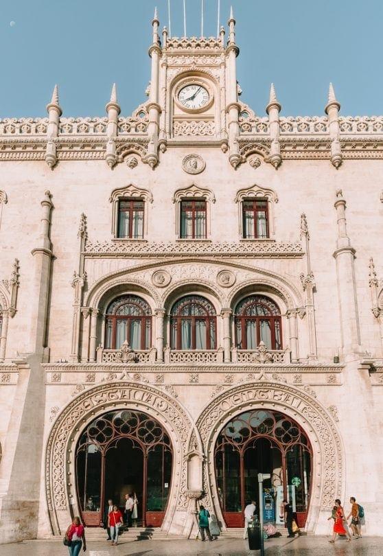 lisbon portugal station rossio