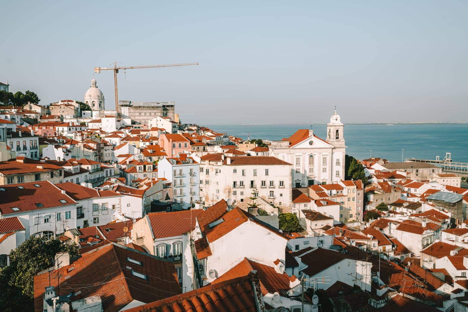 uitkijkpunt Lissabon