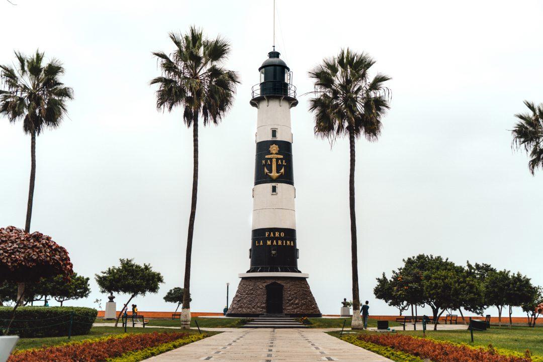 lima peru Miraflores Lighthouse