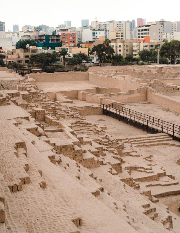 things to do lima peru Pyramid Huaca Pucllana