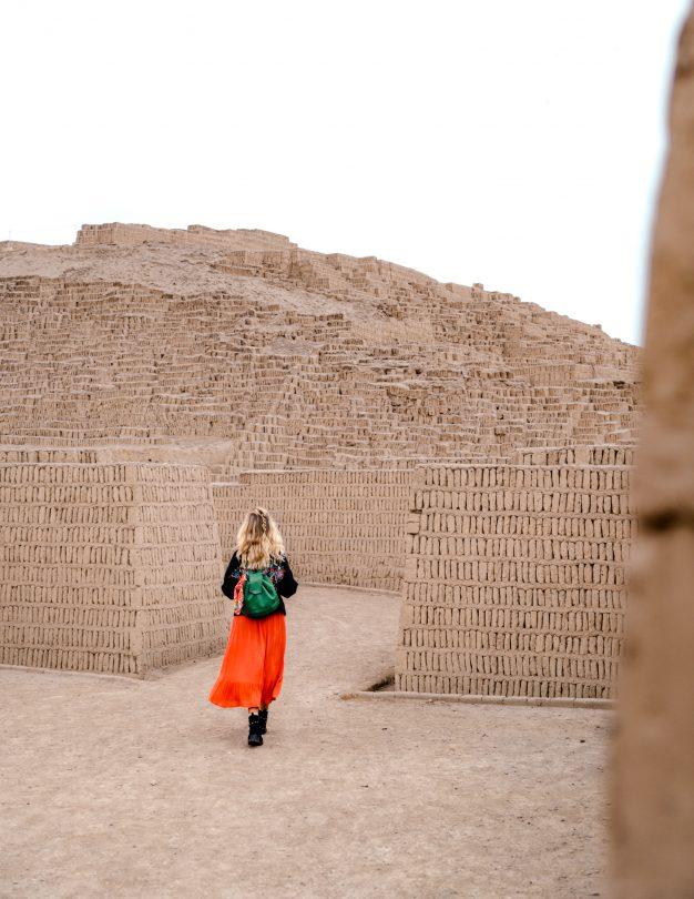 peru Pyramid Huaca Pucllana