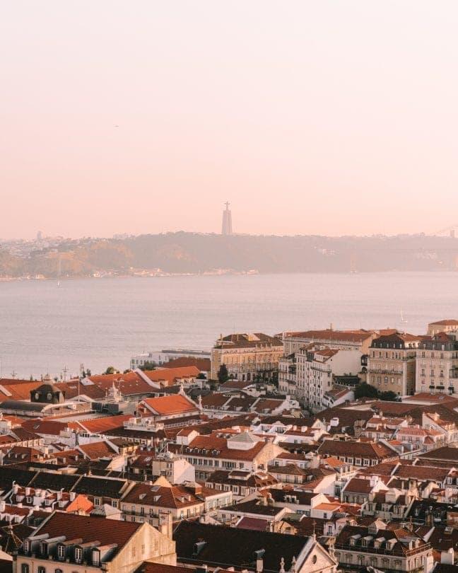 Lissabon uitzicht