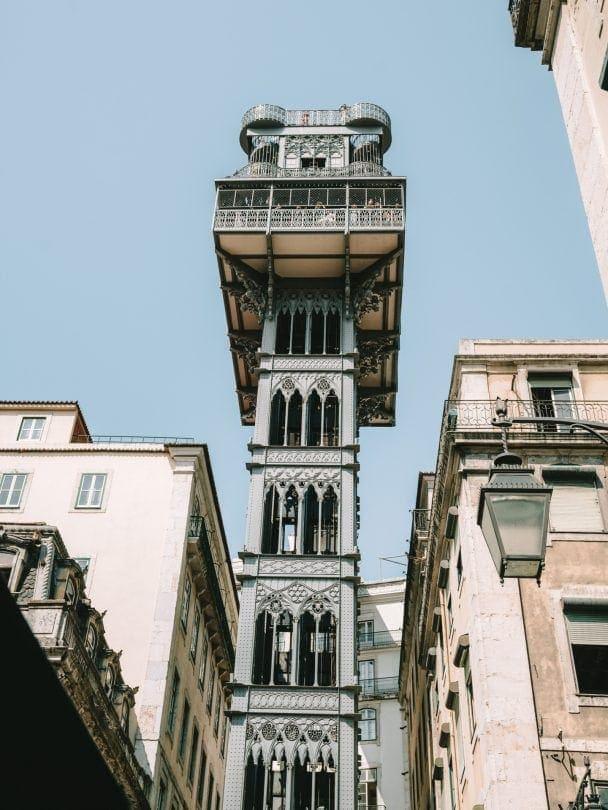 Santa Justa Lift Lisbon things to do