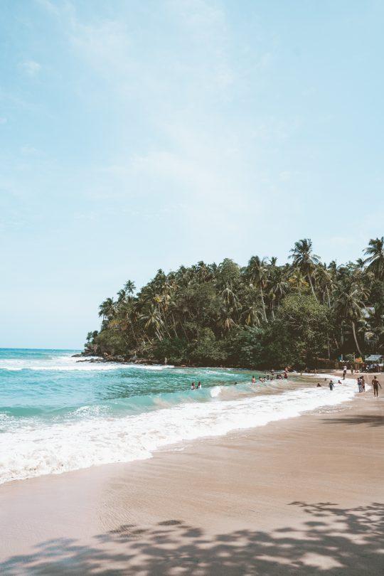 best beach sri lanka