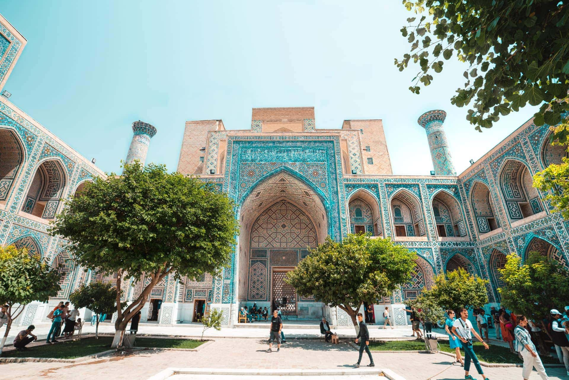travel guide uzbekistan samarkand