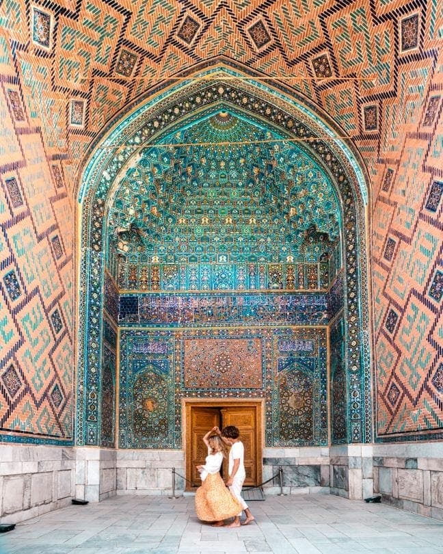 Uzbekistan Guide samarkand registan