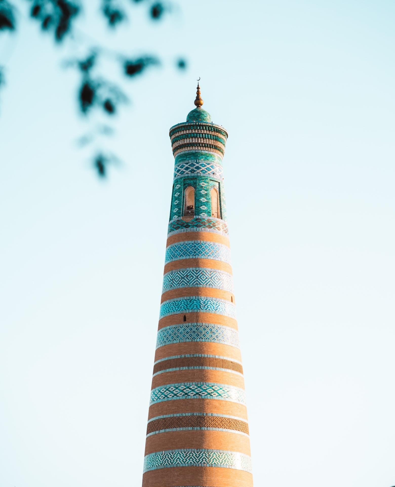 things to do khiva Islam Khoja Minaret