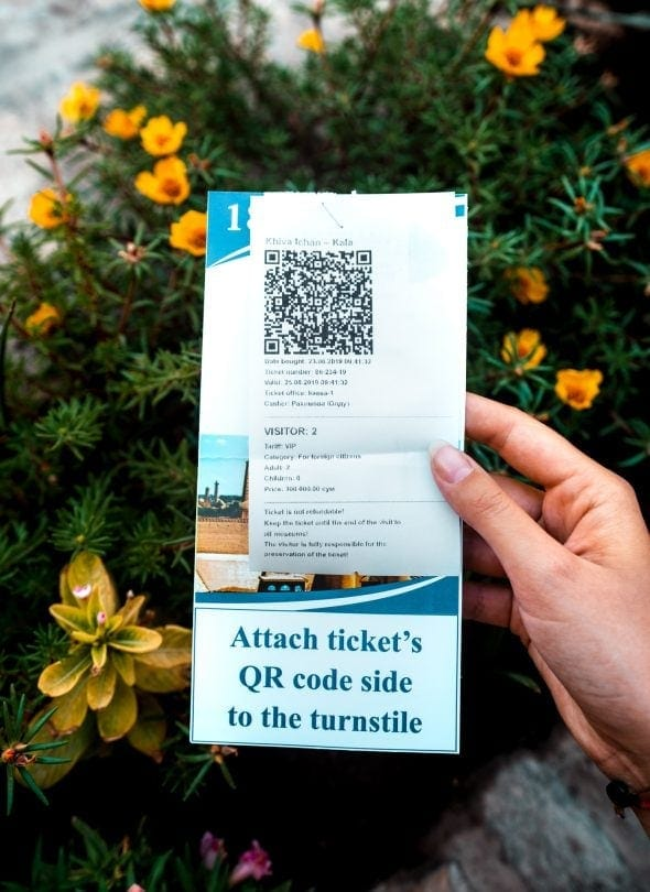 Khiva Entrance Ticket