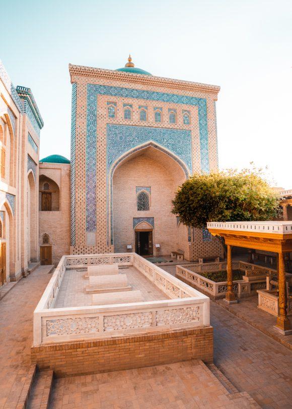 khiva uzbekistan Pahlavon Mahmud Mausoleum