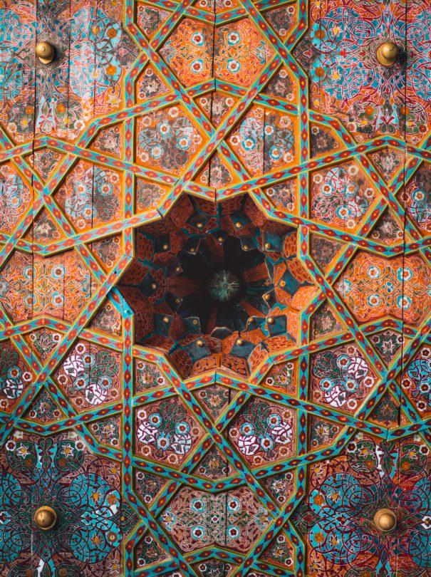 details Tash Hauli khiva