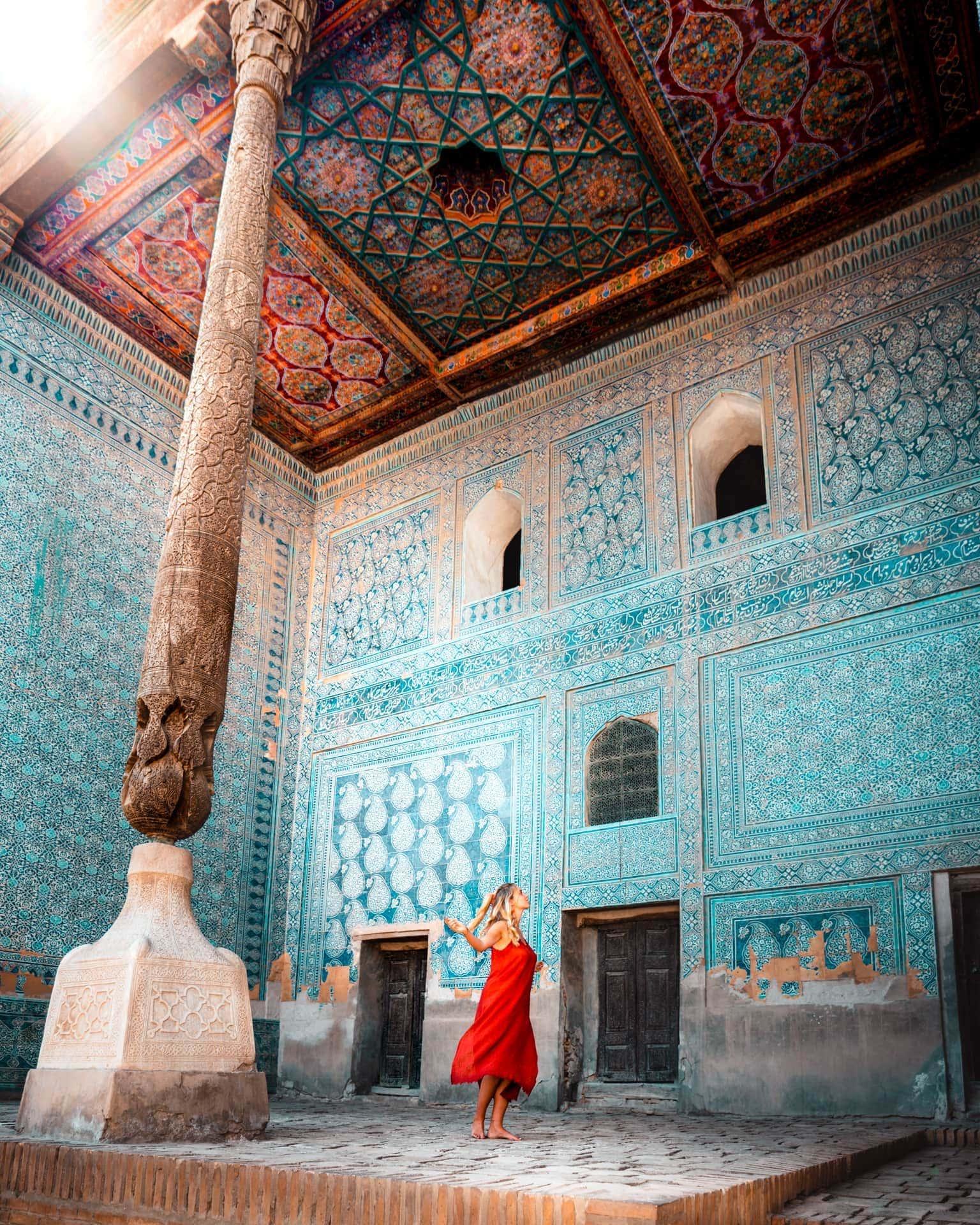 things to do khiva museum Tash Hauli