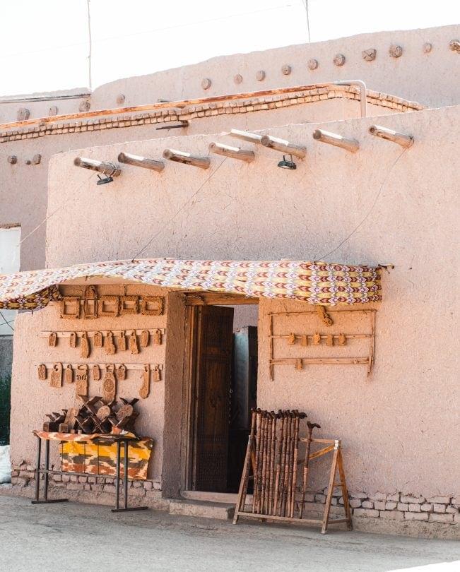khiva craft shop
