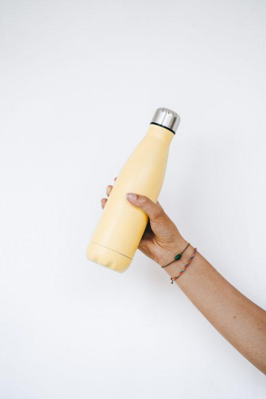 travel plastic refill bottle