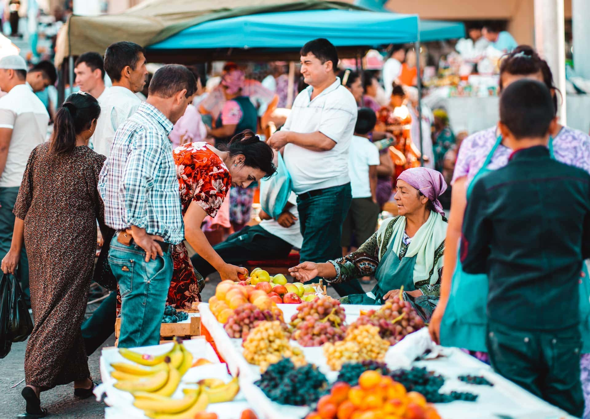 things to do samarkand market