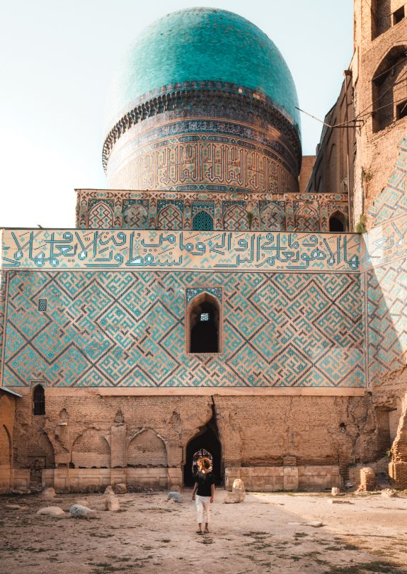 samarkand-uzbekistan Bibi Khanym Mosque