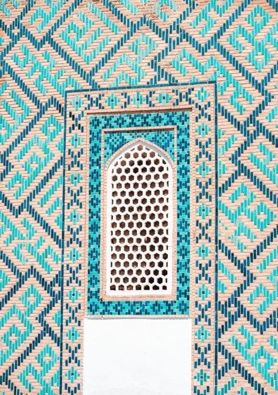 samarkand uzbekistan mausoleum