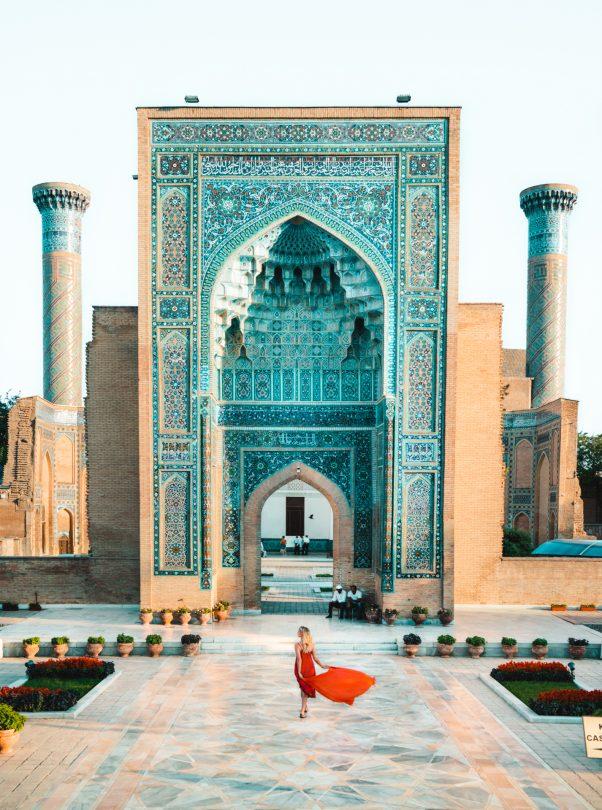 Gur e Amir Samarkand uzbekistan