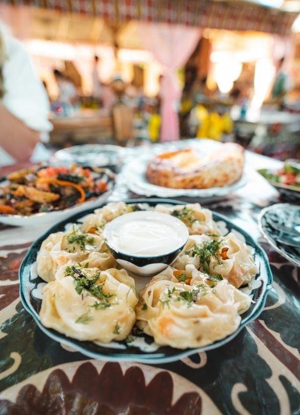 samarkand uzbekistan Bibikhanum Teahouse