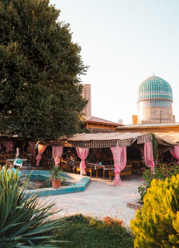 best restaurant samarkand uzbekistan