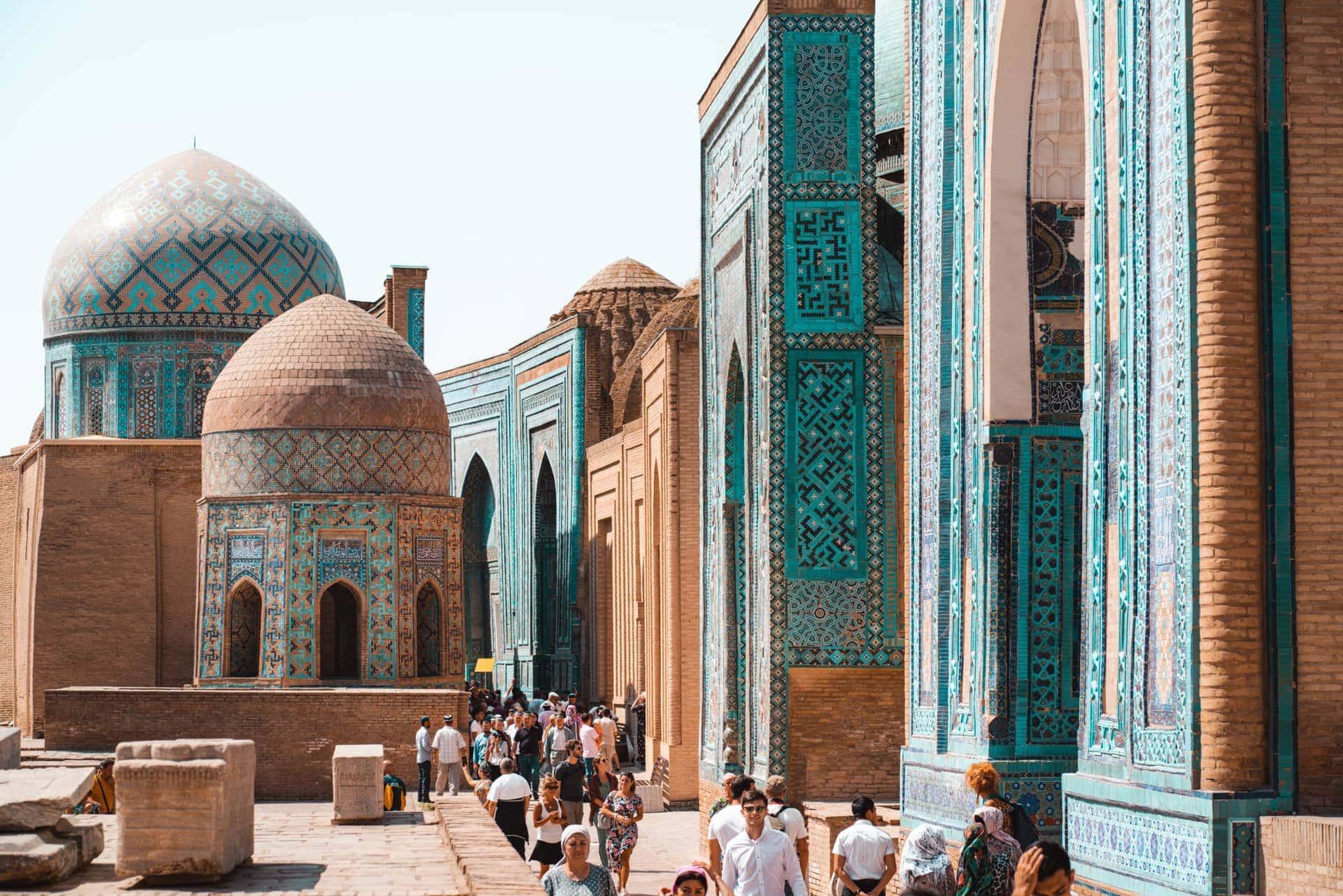 samarkand uzbekistan Shakhi Zinda