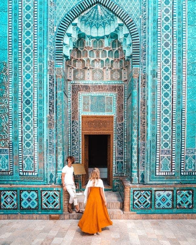things to do samarkand uzbekistan Shakhi Zinda