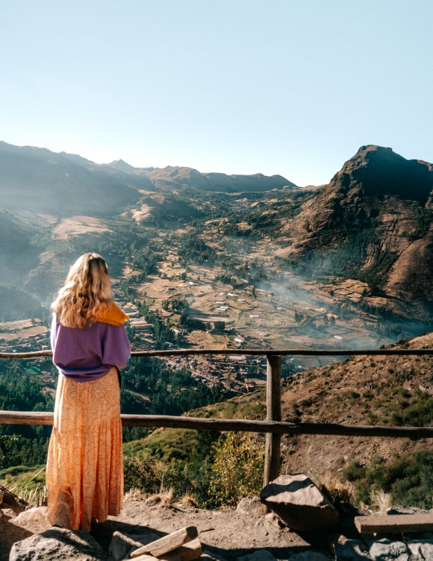 sacred valley Pisac peru viewpoint