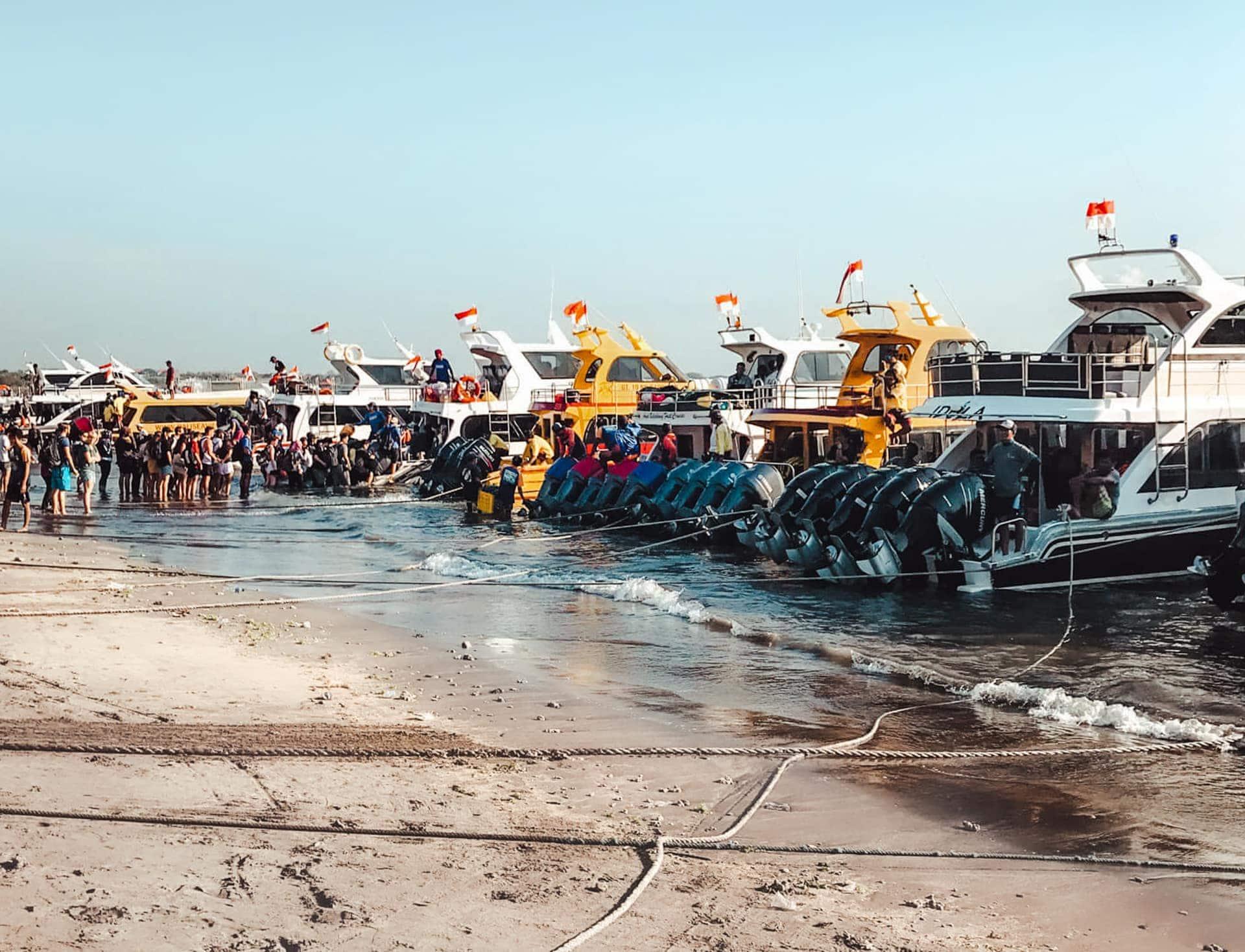 nusa lembongan boat