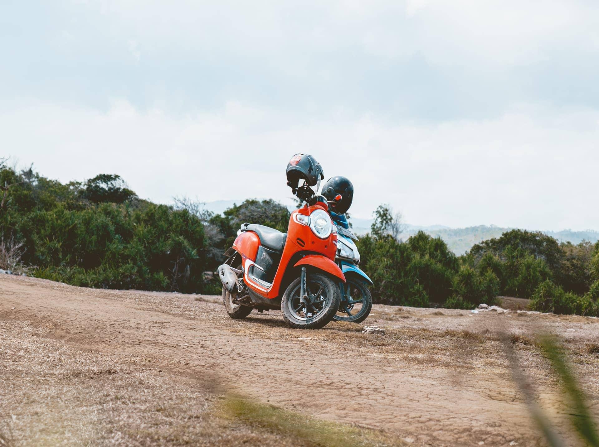 scooter huren nusa lembongan