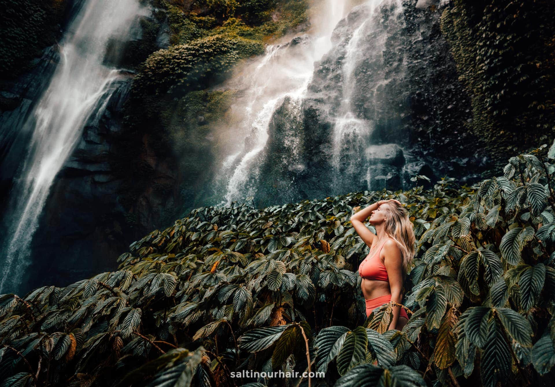 most beautiful waterfall bali