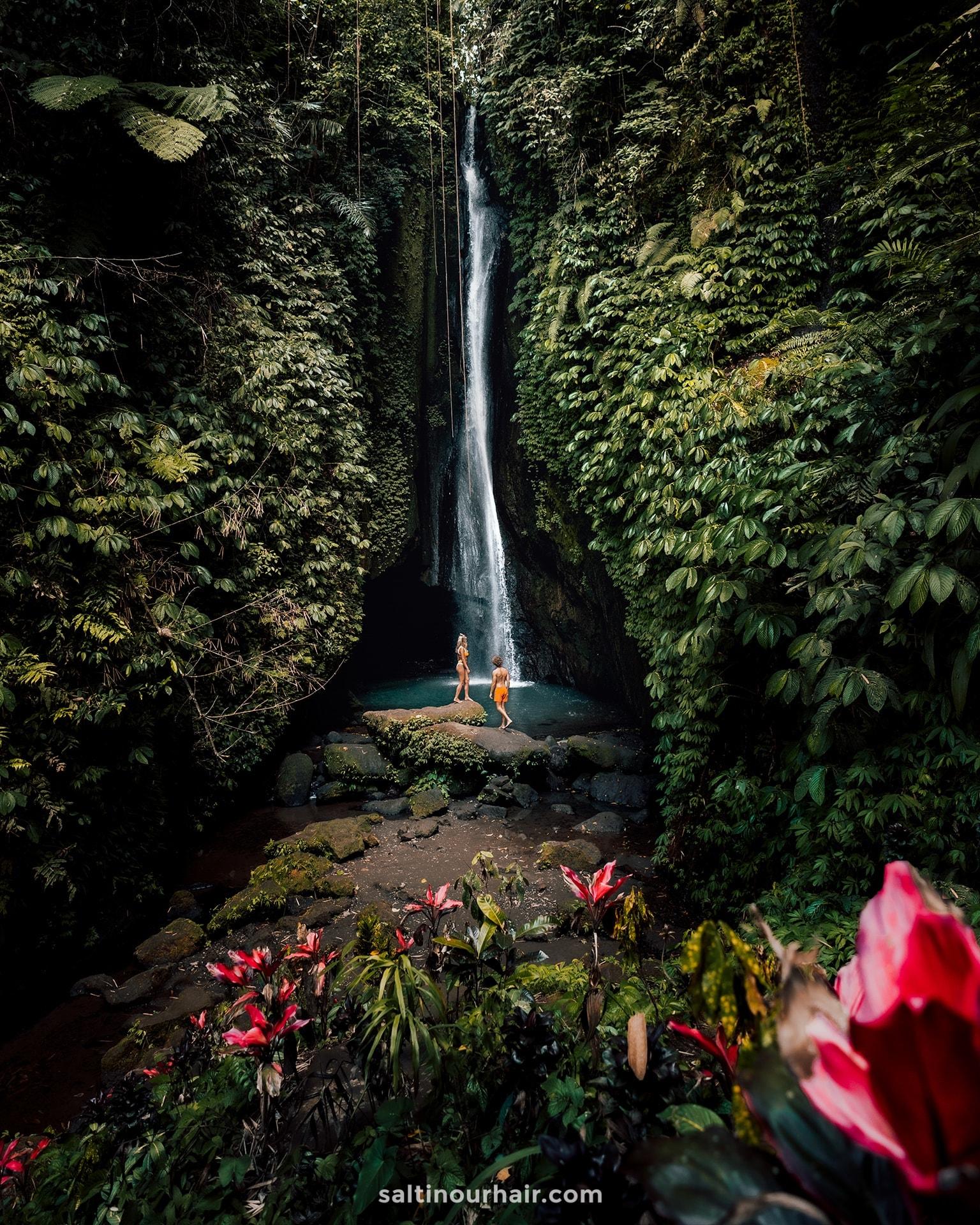 watervallen bali leke leke