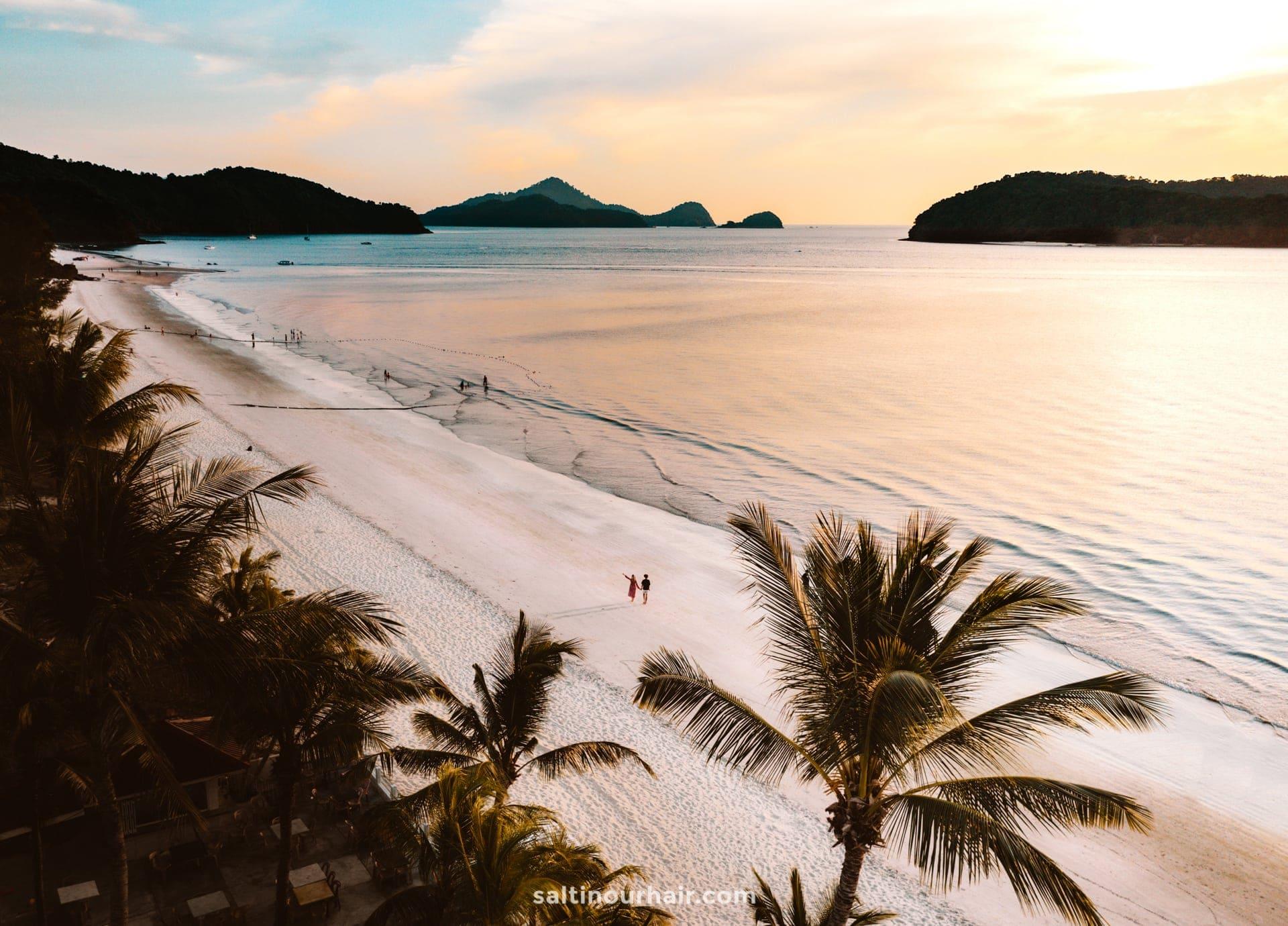 Langkawi malaysia Pantai Cenang Beach