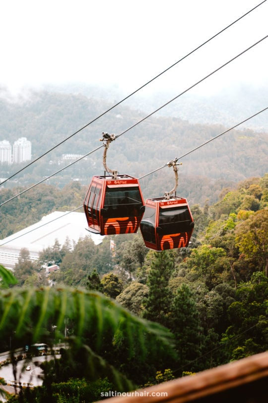 malaysia genting highlands cablecar