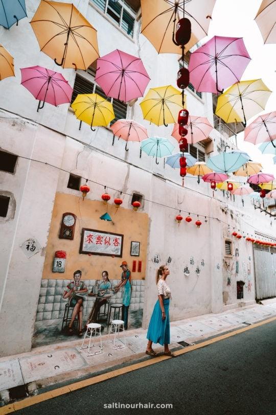 ipoh malaysia umbrella street