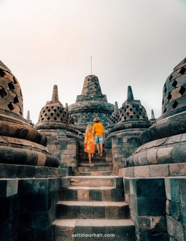 indonesia yogyakarta borobudur temple