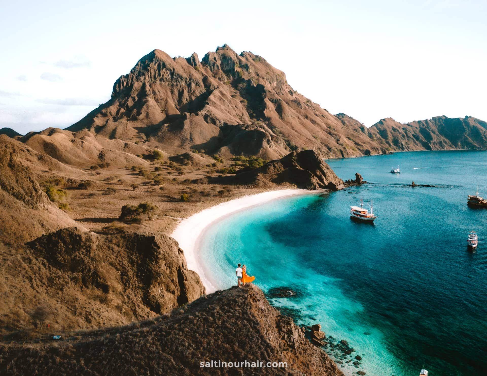 indonesia padar island komodo