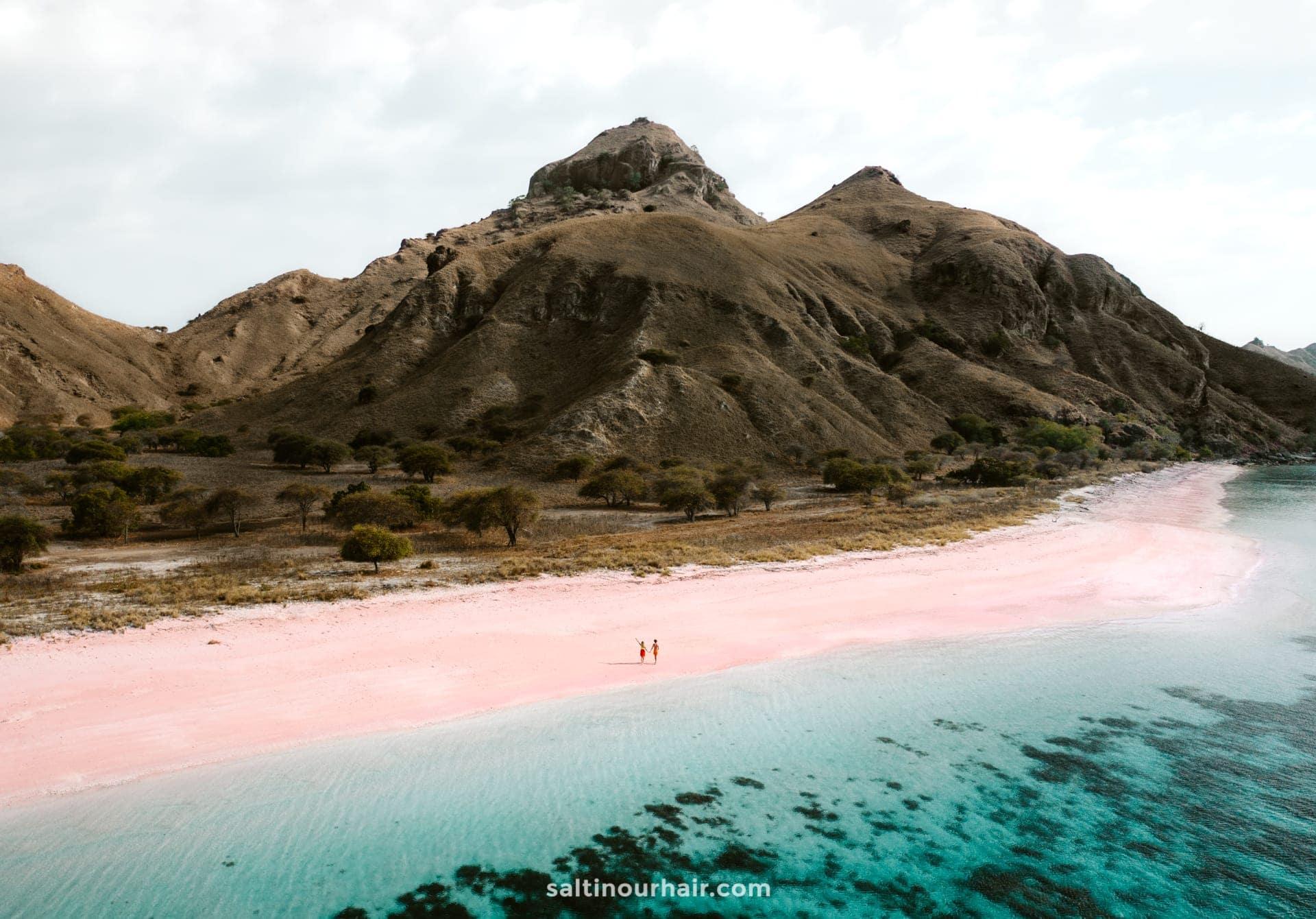 long beach pink komodo indonesia