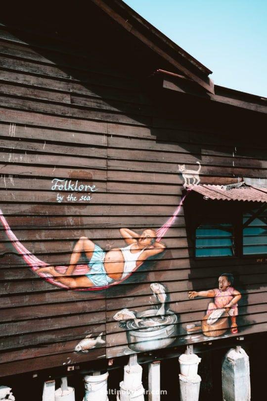 things to do penang malaysia Clan Jetties