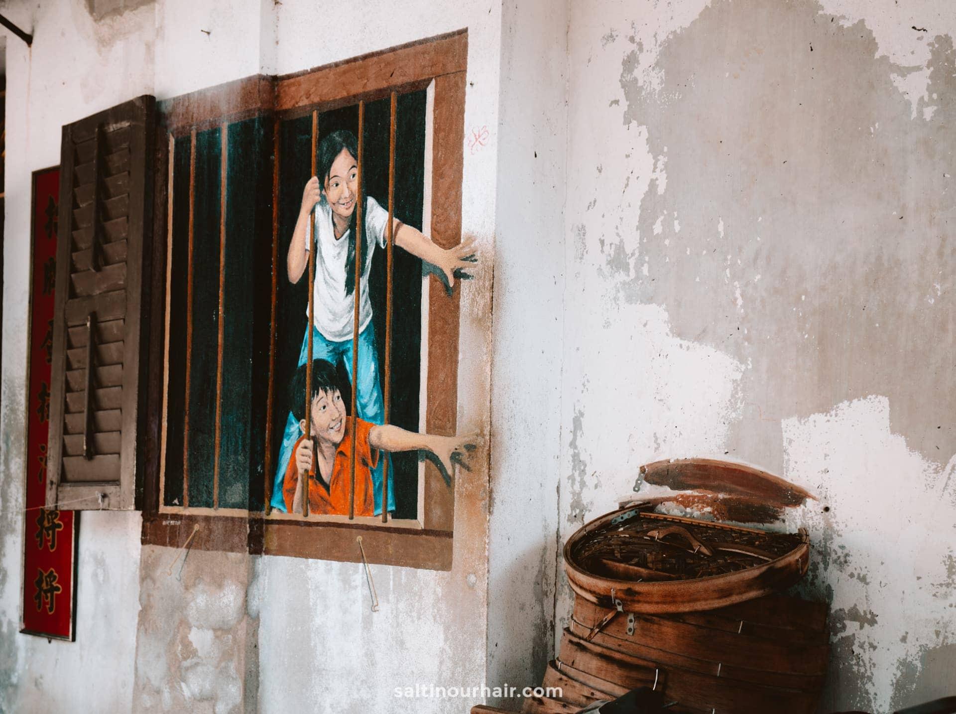 penang malaysia street art