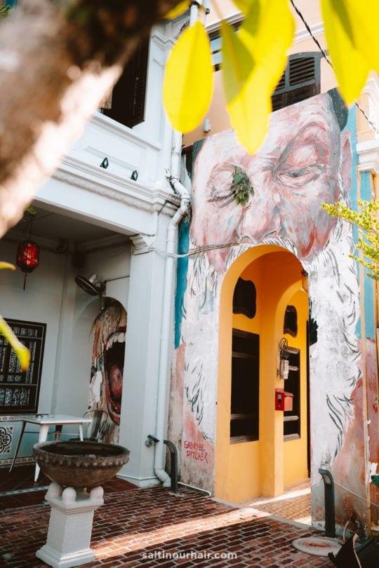 penang georgetown street art