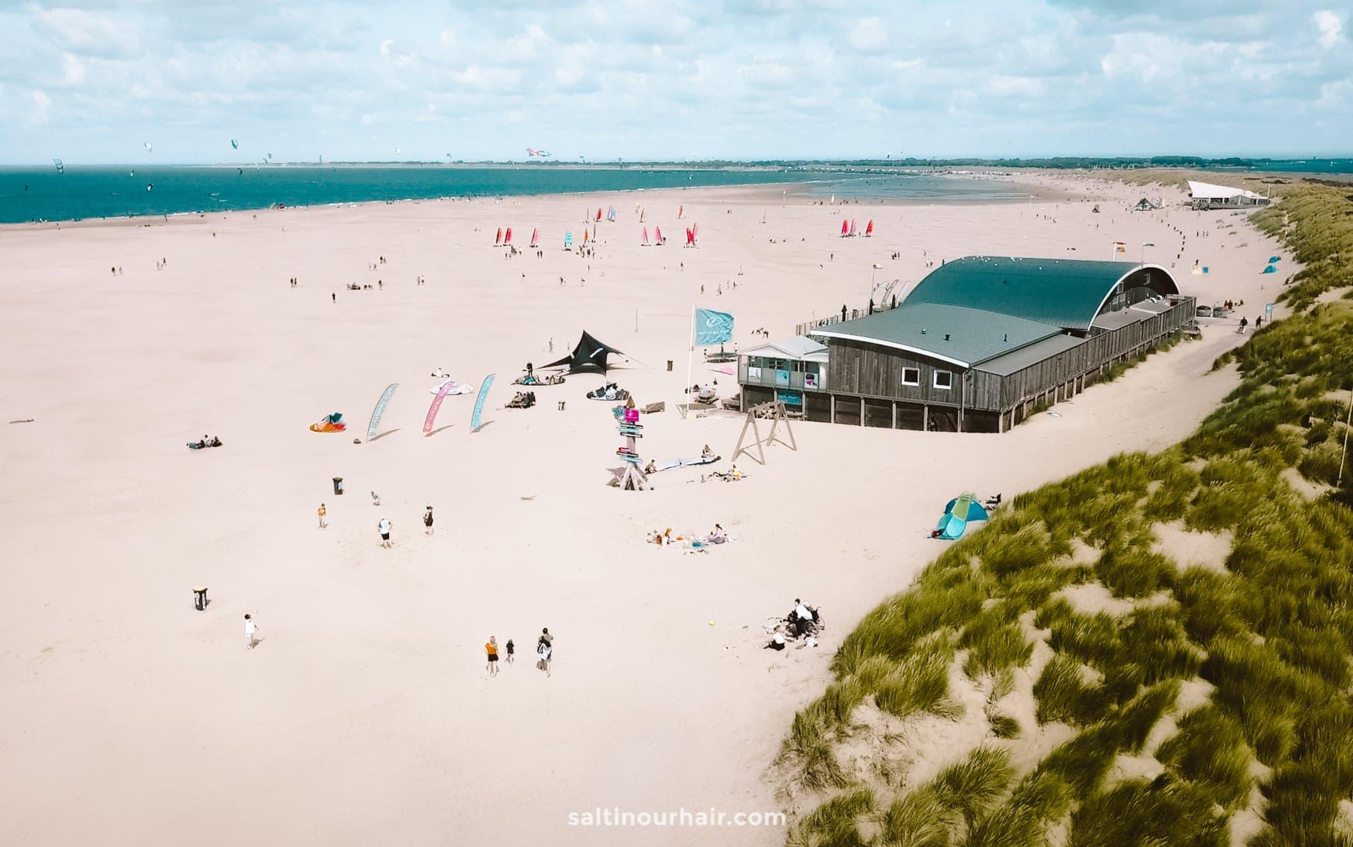 beach the netherlands