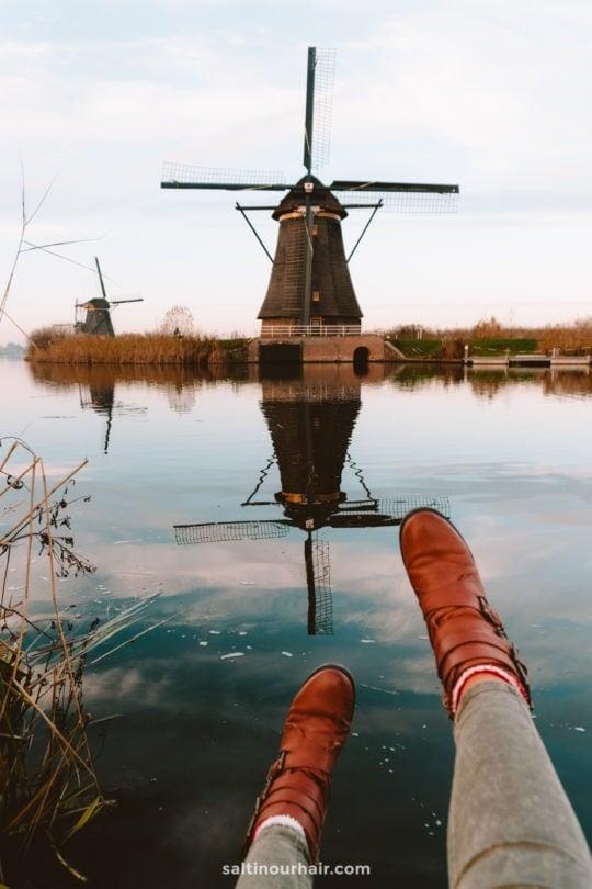 windmills the netherlands