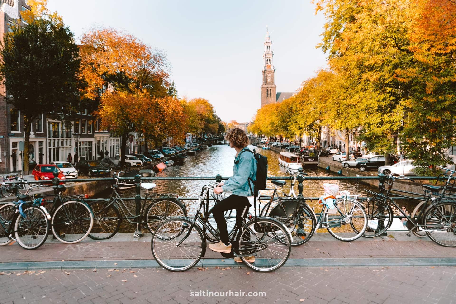 amsterdam netherlands bicycle
