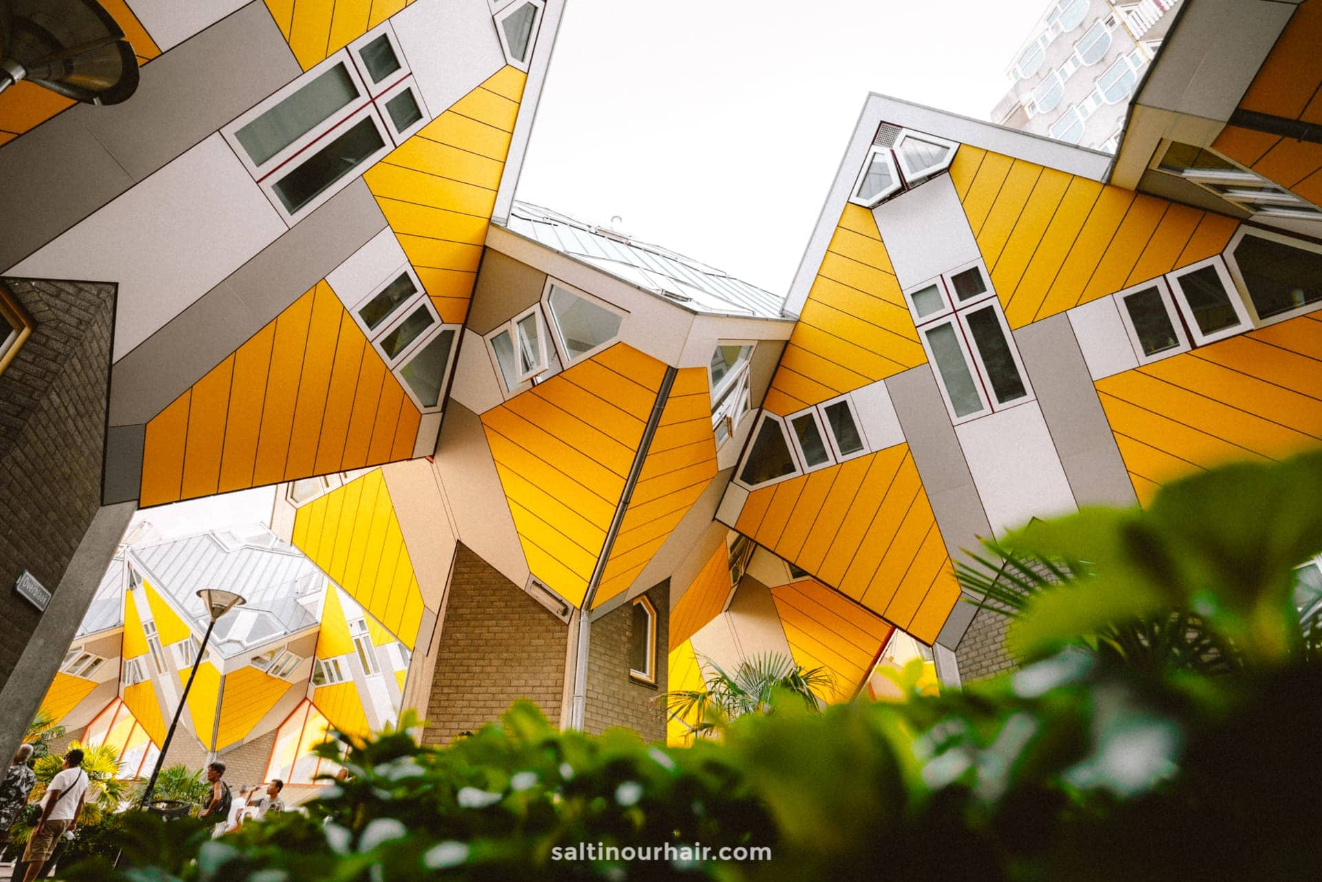 things to do rotterdam yellow cube houses