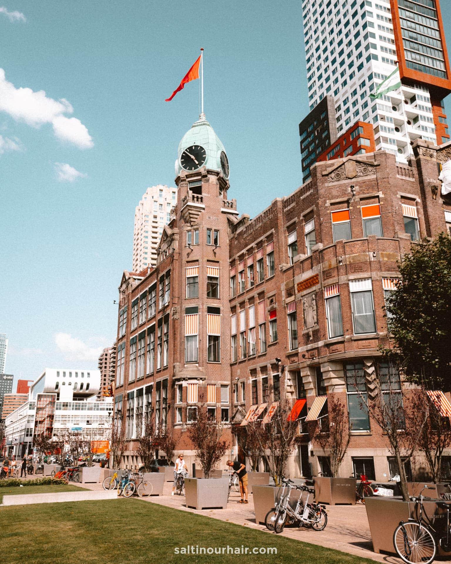 citytrip rotterdam hotel new york