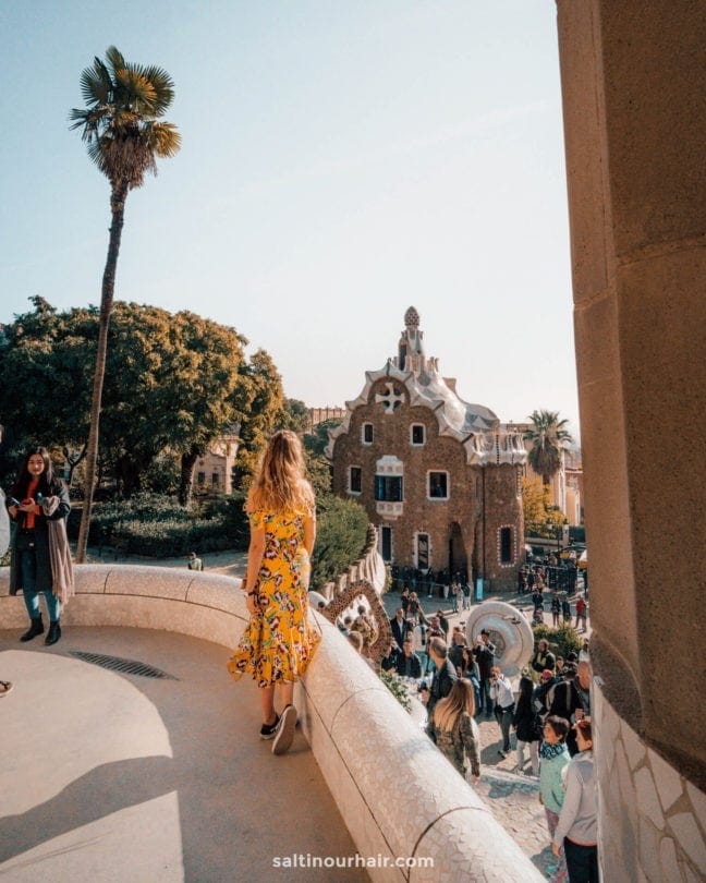 barcelona Park Güell unesco