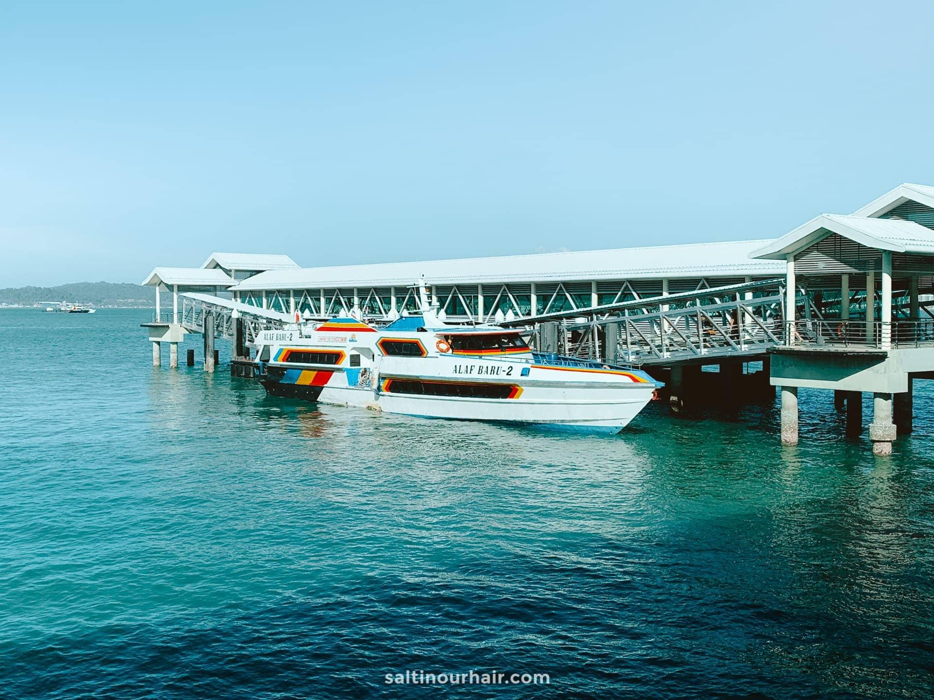 ferry langkawi koh lipe thailand