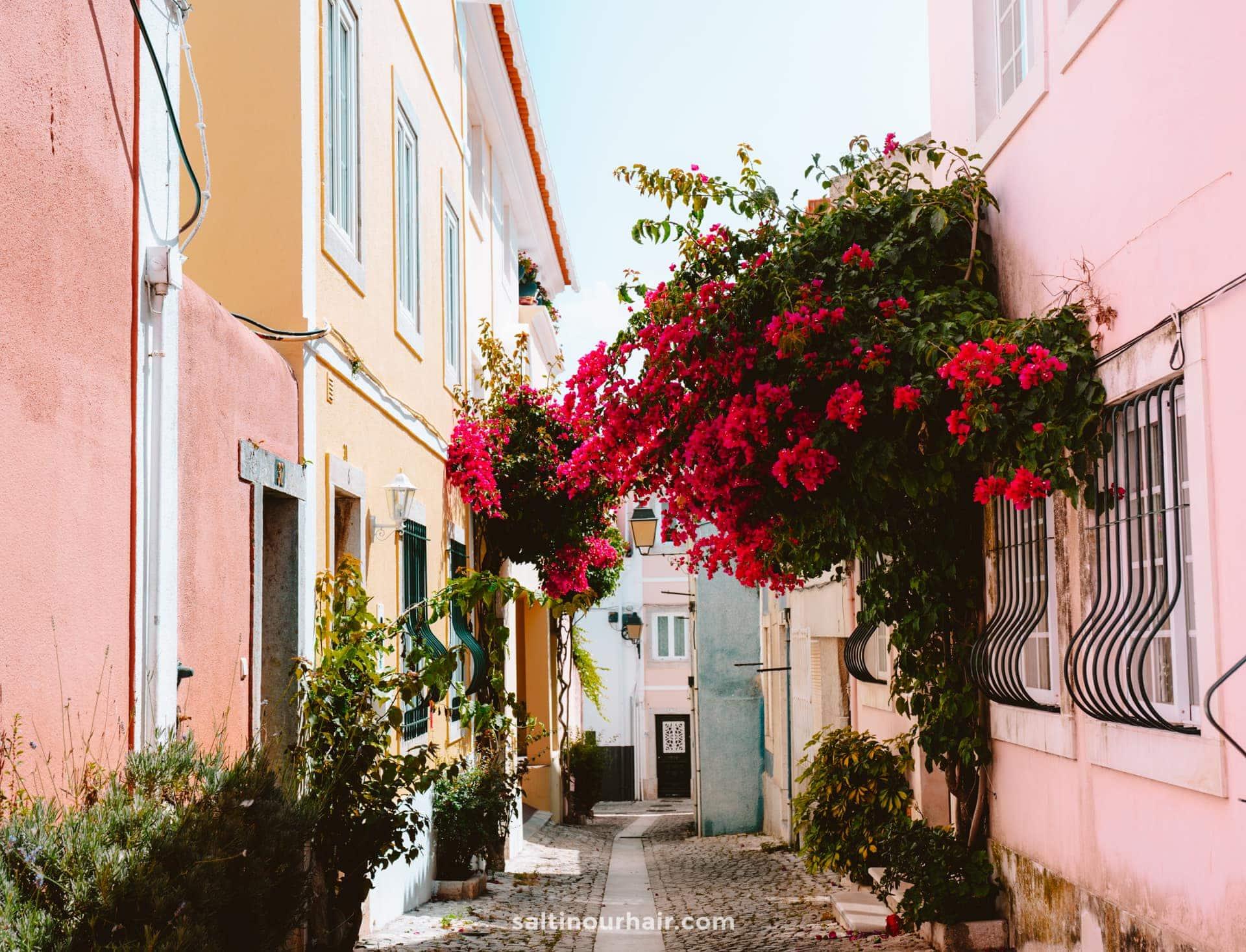beautiful street portugal