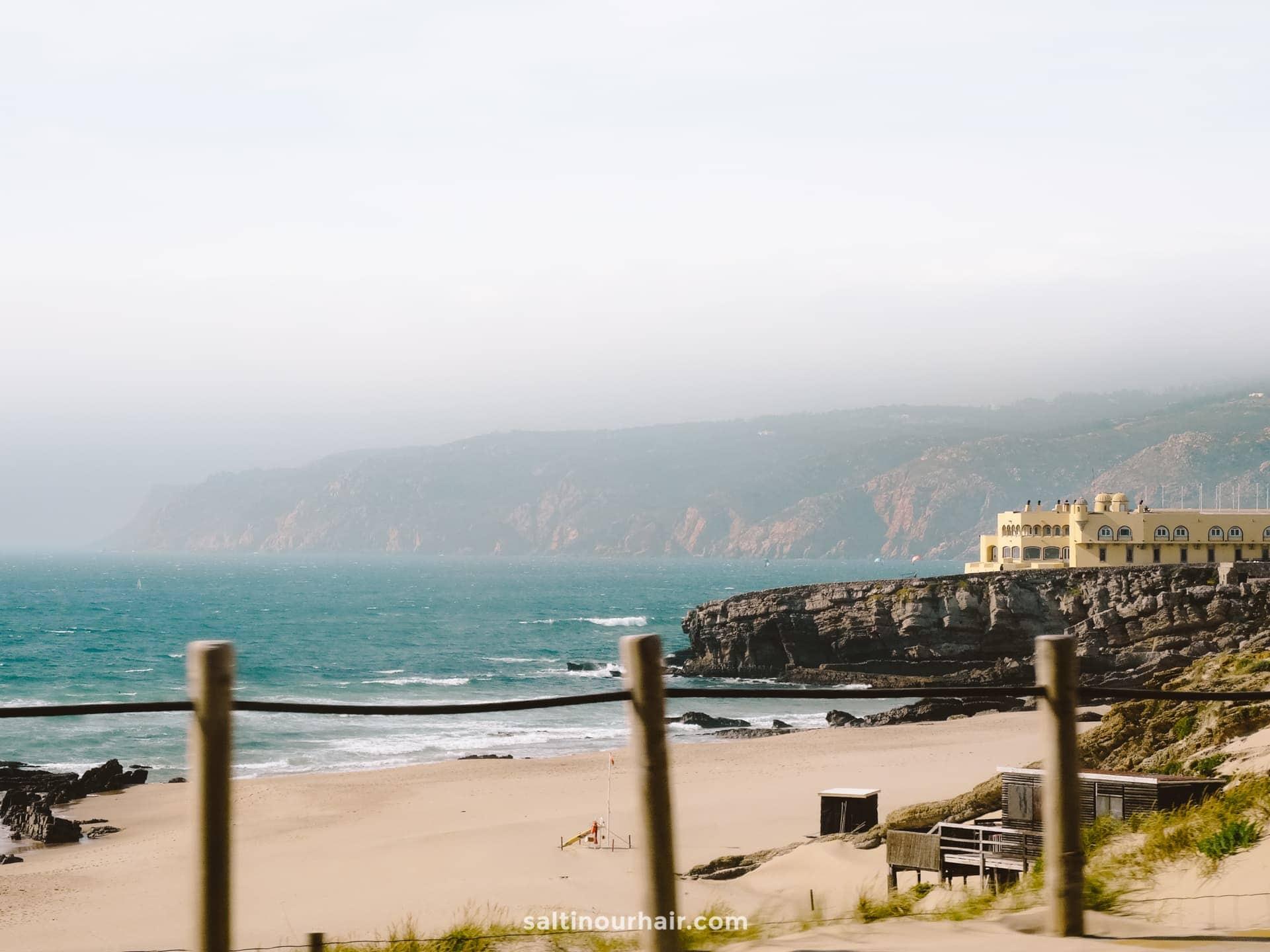 best beach lisbon portugal