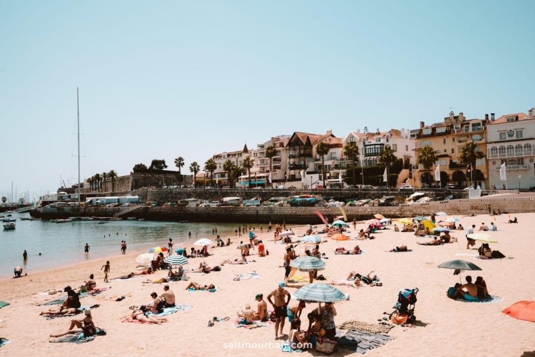 best beach cascais portugal