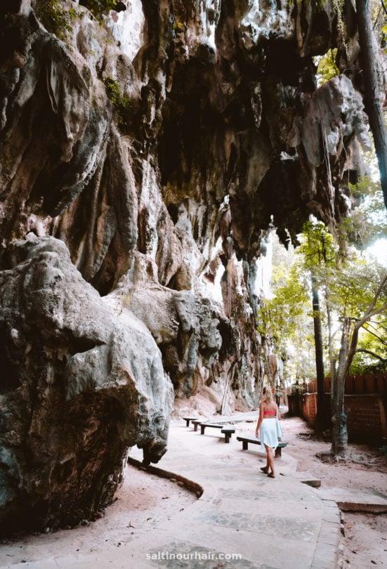 krabi railay caves